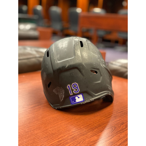 Photo of Colorado Rockies Team-Issued 2020 Helmet: Charlie Blackmon