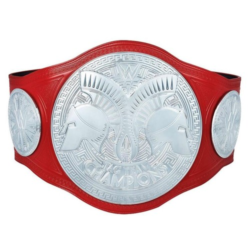 AJ Styles and Omos SIGNED WWE RAW Tag Team Championship Replica Title