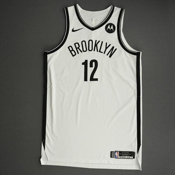 Image of Joe Harris - Brooklyn Nets - Game-Worn Association Edition Jersey - 2021 NBA Playoffs