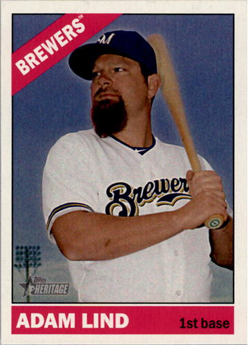 Photo of 2015 Topps Heritage #403 Adam Lind