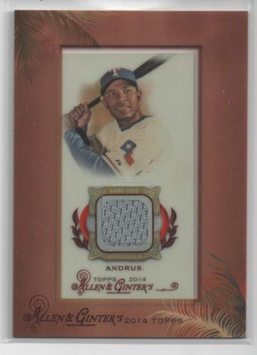 Photo of 2014 Topps Allen and Ginter Mini Framed Relics #RAEA Elvis Andrus A