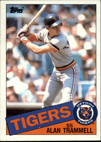 Photo of 1985 Topps #690 Alan Trammell
