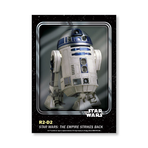 R2-D2 2016 Star Wars Card Trader Base Poster - # to 99