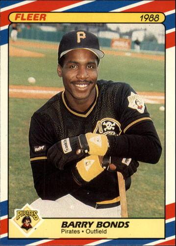 Photo of 1988 Fleer Superstars #4 Barry Bonds