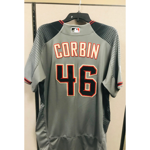 Photo of 2017 Team-Issued Patrick Corbin Jersey