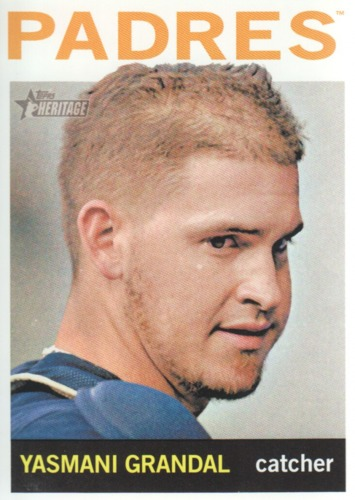 Photo of 2013 Topps Heritage #284 Yasmani Grandal