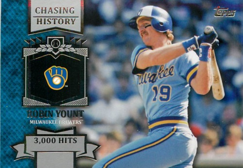 Photo of 2013 Topps Chasing History #CH34 Robin Yount