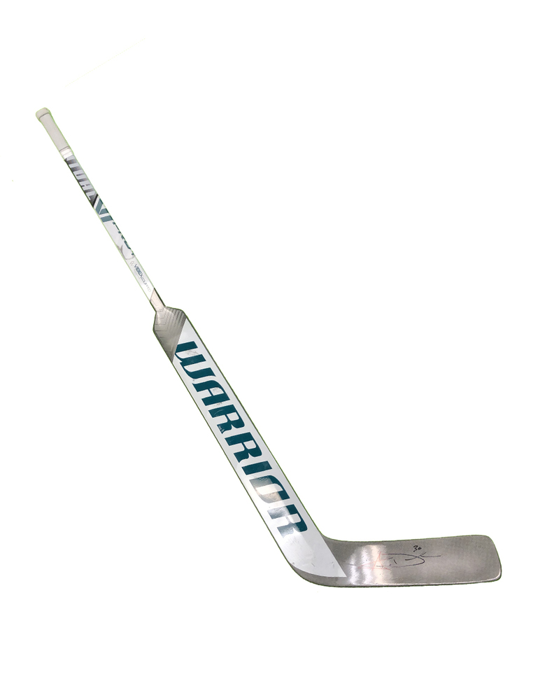 #30 Aaron Dell Game Used Stick - Autographed - San Jose Sharks