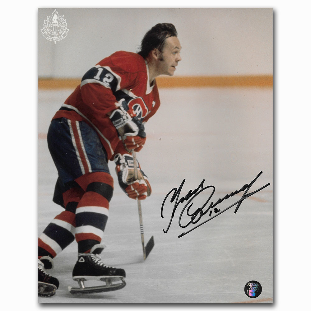Yvan Cournoyer Autographed Montreal Canadiens 8X10 Photo