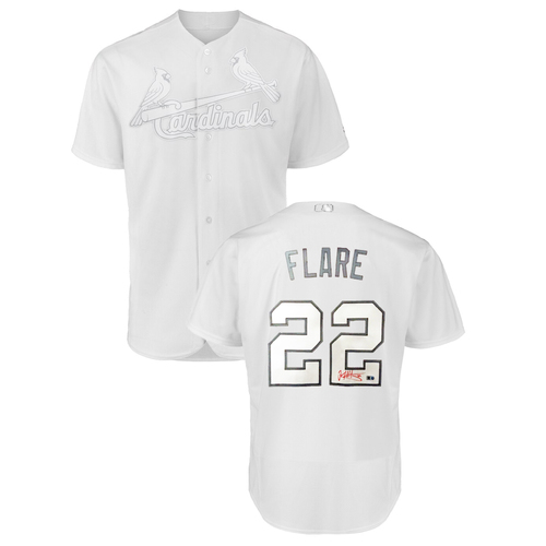 Photo of Jack Flaherty Autographed Cardinals 2019 Players' Weekend Jersey