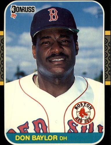 Photo of 1987 Donruss #339 Don Baylor