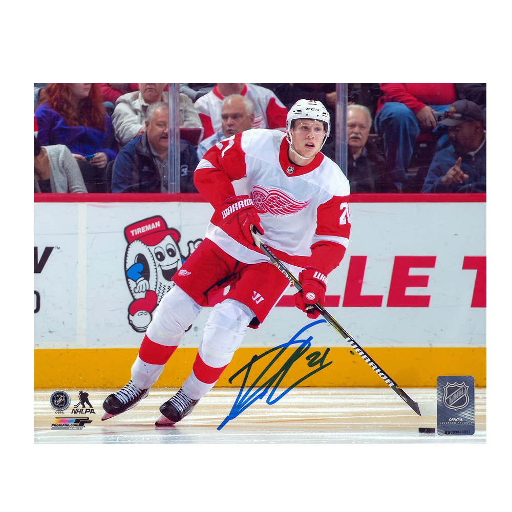 DENNIS CHOLOWSKI Signed Detroit Red Wings 8 X 10 Photo - 70065