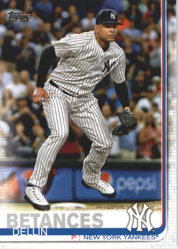 Photo of 2019 Topps #505 Dellin Betances