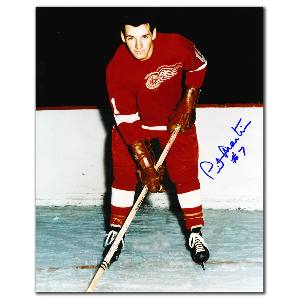 Pit Martin Detroit Red Wings Autographed 8x10 Photo