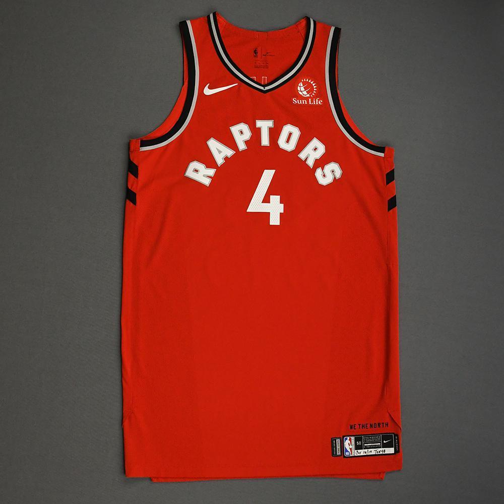 Rondae Hollis-Jefferson - Toronto Raptors - Game-Worn Icon Edition Jersey - NBA Japan Games - 2019-20 NBA Season