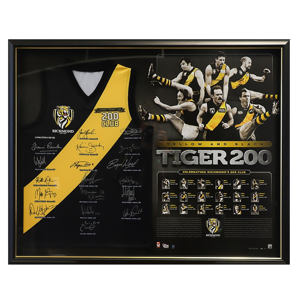 Yellow and Black Tiger Club 200  - Edition #65
