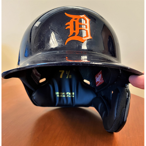 Photo of #4 Detroit Tigers Team-Issued 2020 Road Batting Helmet (MLB AUTHENTICATED)