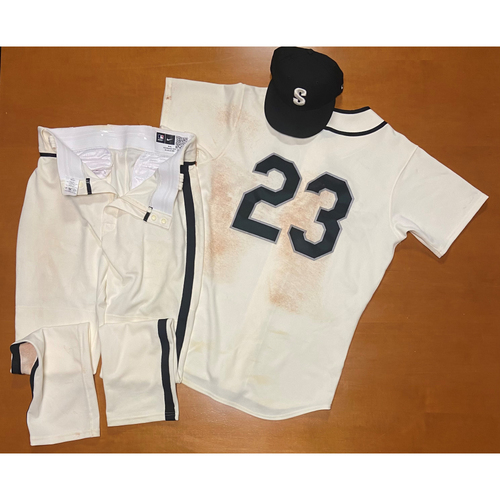Photo of 2021 Game Used Seattle Steelheads Salute to Negro Leagues Uniform - #23 Ty France