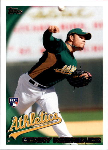 Photo of 2010 Topps #307 Henry Rodriguez RC