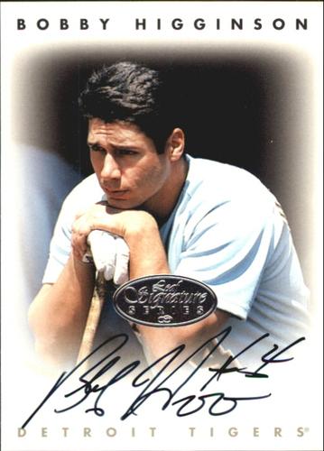 Photo of 1996 Leaf Signature Autographs Silver #101 Bobby Higginson