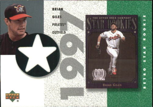 Photo of 2002 UD Authentics Retro Star Rookie Jerseys #SRBG Brian Giles