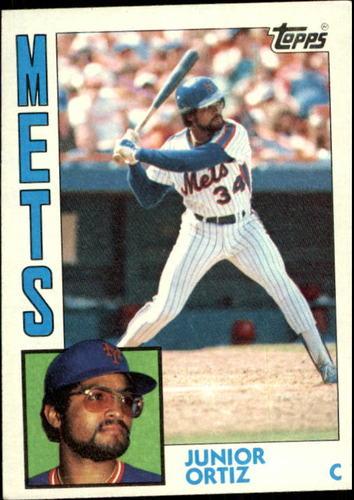 Photo of 1984 Topps #161 Junior Ortiz