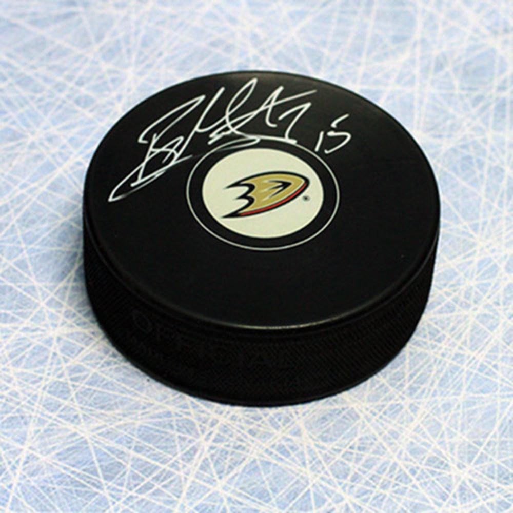 Ryan Getzlaf Anaheim Ducks Autographed Hockey Puck