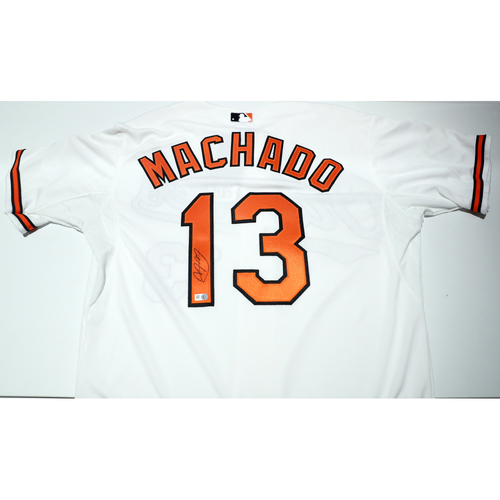 Compton Youth Academy Auction: Manny Machado Signed Jersey