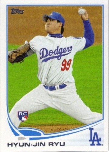 Photo of 2013 Topps #661A Hyun-Jin Ryu Rookie Card