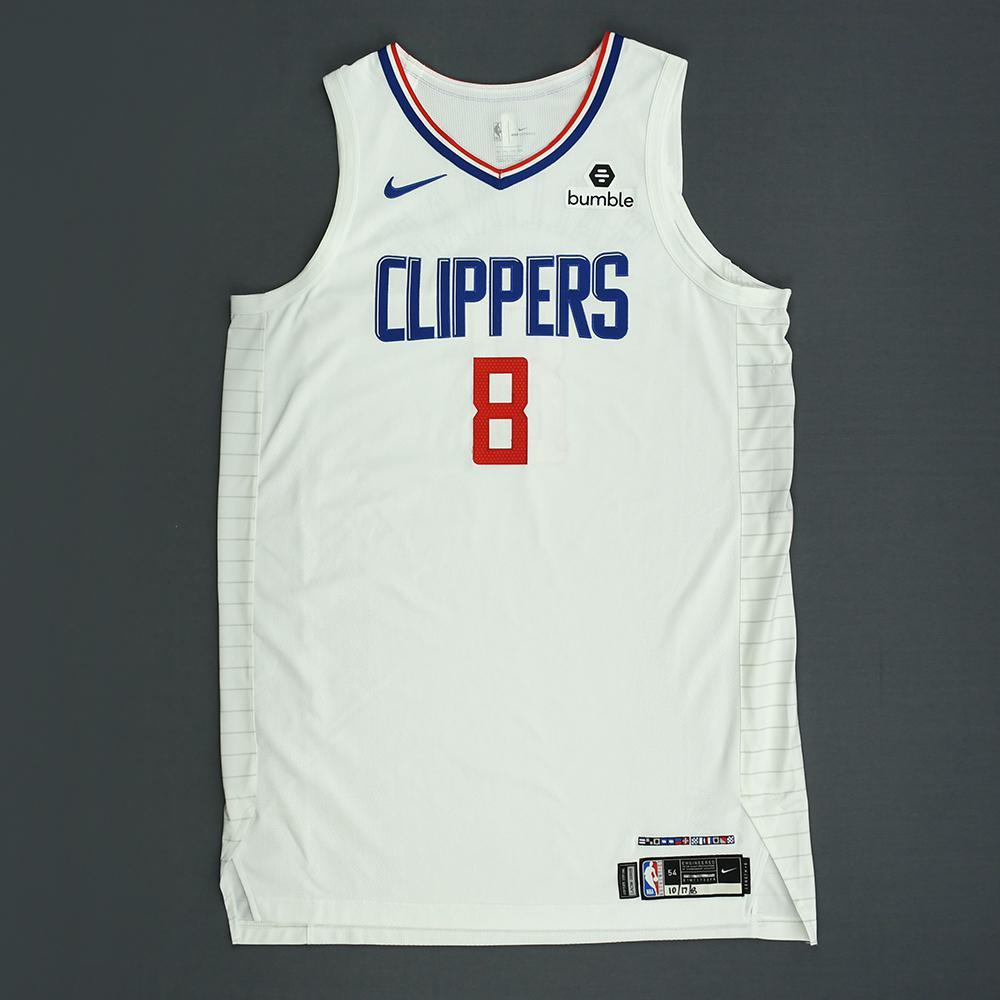 Danilo Gallinari - Los Angeles Clippers - Kia NBA Tip-Off 2018 - Game-Worn Association Edition Jersey