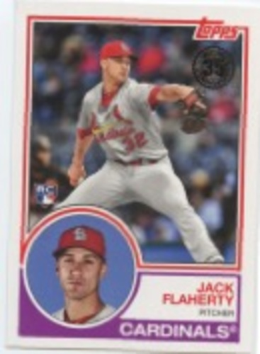 Photo of 2018 Topps Update '83 Topps #8337 Jack Flaherty