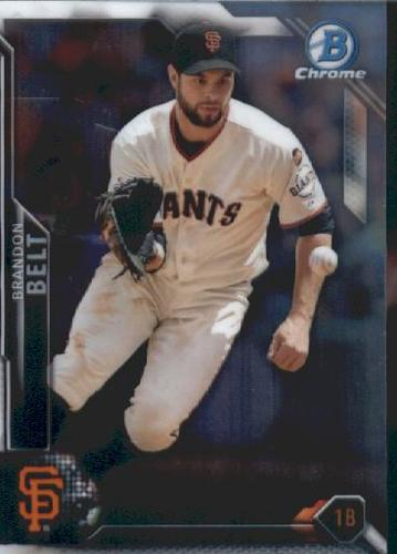 Photo of 2016 Bowman Chrome Vending '16 Bowman #78 Brandon Belt
