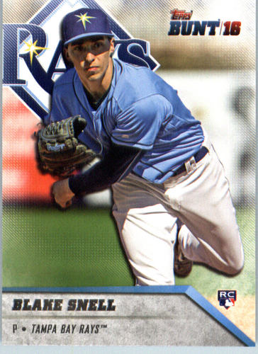 Photo of 2016 Topps Bunt #19 Blake Snell Rookie Card
