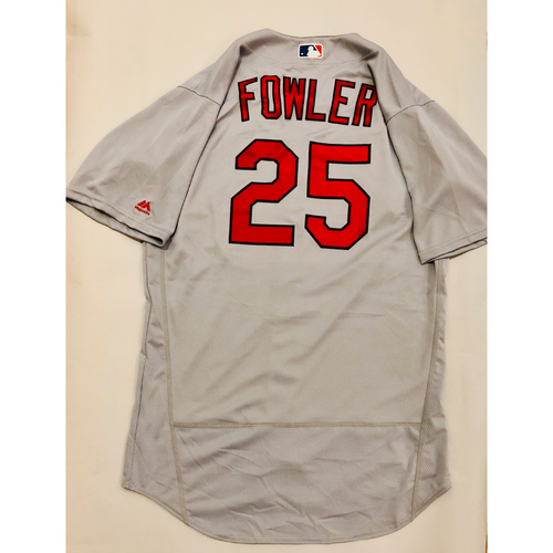 2019 Mexico Series Game Used Jersey - Dexter Fowler Size 46 (St. Louis Cardinals)