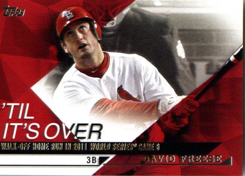 Photo of 2015 Topps Til It's Over #TIO14 David Freese