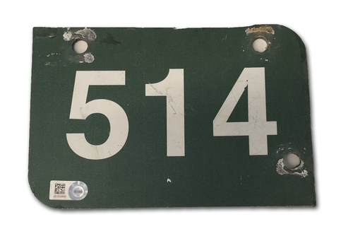Photo of Wrigley Field Collection -- Aisle Marker 514 -- Removed after 2018 Season