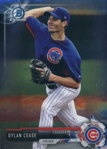 Photo of 2017 Bowman Chrome Prospects #BCP124 Dylan Cease