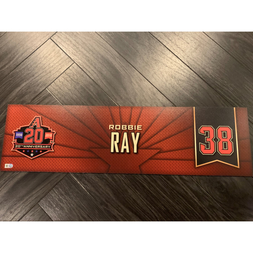 Photo of 2018 Locker Nameplate - 2017 All Star #38 Robbie Ray
