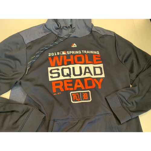 Photo of Team-Issued 2019 Spring Training Hoodie #98