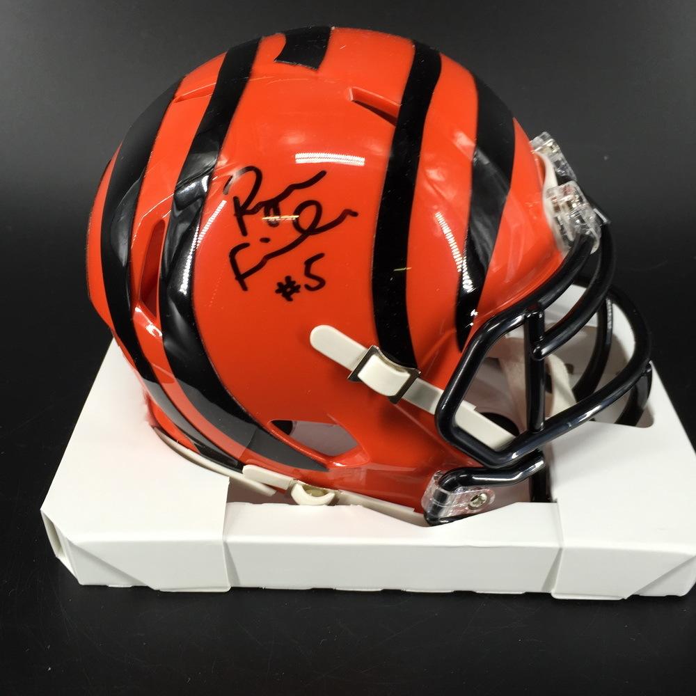 NFL - Bengals Ryan Finley Signed Mini Helmet