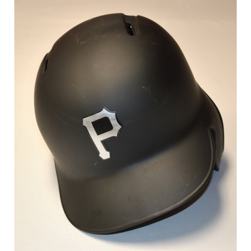 "Photo of Dario ""REY"" Agrazal Pittsburgh Pirates Team-Issued 2019 Players' Weekend Helmet"