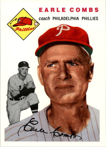 Photo of 1994 Topps Archives '54 #183 Earle Combs CO