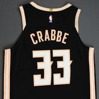 Allen Crabbe - Atlanta Hawks - Game-Worn City Edition Jersey - 2019-20 Season