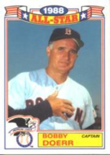 Photo of 1989 Topps Glossy All-Stars #11 Bobby Doerr CAPT