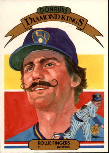 Photo of 1983 Donruss #2 Rollie Fingers DK