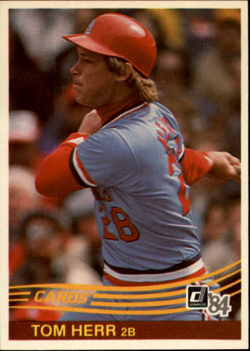 Photo of 1984 Donruss #596 Tom Herr