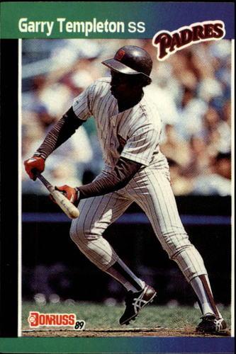 Photo of 1989 Donruss #483 Garry Templeton