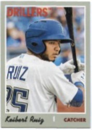 Photo of 2019 Topps Heritage Minors #210 Keibert Ruiz SP