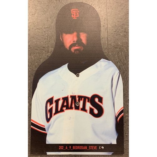 Photo of Giants Community Fund - Celebrity Cutouts - Steve Bedrosian