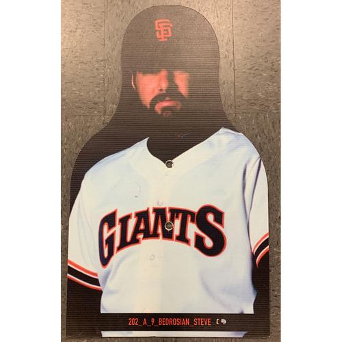 Photo of Giants Community Fund - Celebrity Cutouts - Steve Bedrosian
